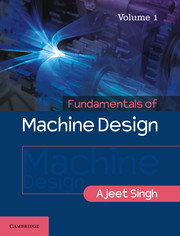 Fundamentals of Machine Design