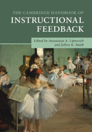 The Cambridge Handbook of Instructional Feedback