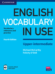 English vocabulary in use upper intermediate english vocabulary in english vocabulary in use upper intermediate book with answers and enhanced ebook vocabulary reference and practice 4th edition fandeluxe Image collections