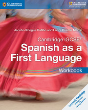 Cambridge IGCSE® Spanish as a First Language Workbook