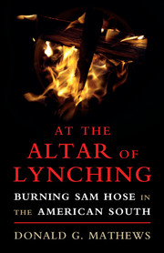 At the Altar of Lynching
