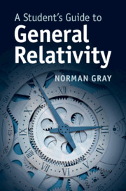 A Student's Guide to General Relativity