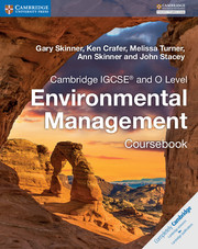 Cambridge IGCSE® and O Level Environmental Management