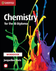 Chemistry for the ib diploma chemistry cambridge university press chemistry for the ib diploma workbook with cd rom fandeluxe Images