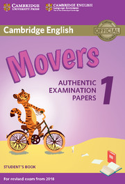 Cambridge english movers 1 for revised exam from 2018 cambridge cambridge english movers 1 for revised exam from 2018 fandeluxe Choice Image