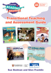 Cambridge Reading Adventures Green to White Bands Transitional Teaching and Assessment Guide with Digital Classroom (1 Year)
