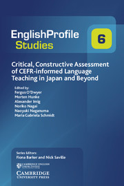 Critical, Constructive Assessment of CEFR-informed Language Teaching in Japan and Beyond