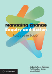 Managing Change Australasian Edition