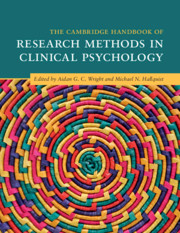 The Cambridge Handbook of Research Methods in Clinical Psychology