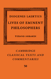 Cambridge Classical Texts and Commentaries