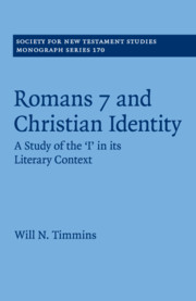 Society for New Testament Studies Monograph Series