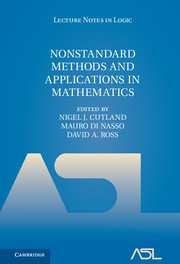 Nonstandard Methods and Applications in Mathematics