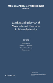 Mechanical Behavior of Materials and Structures in Microelectronics