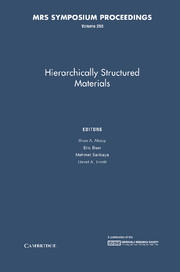 Hierachically Structured Materials