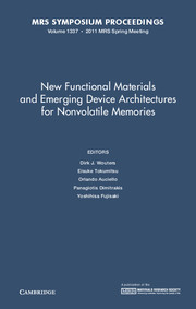 New Functional Materials and Emerging Device Architectures for Nonvolatile Memories