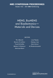 MEMS, BioMEMS and Bioelectronics - Materials and Devices