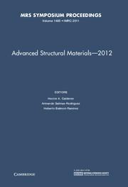 Advanced Structural Materials – 2012