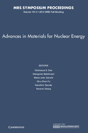 Advances in Materials for Nuclear Energy