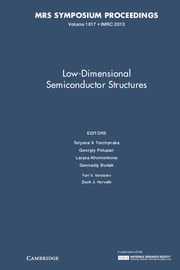 Low-Dimensional Semiconductor Structures