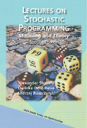 Lectures on Stochastic Programming