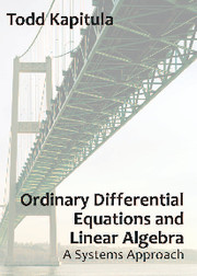 Ordinary Differential Equations and Linear Algebra