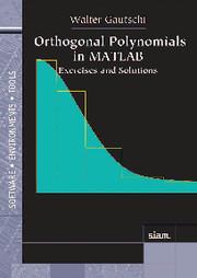 Orthogonal Polynomials in MATLAB