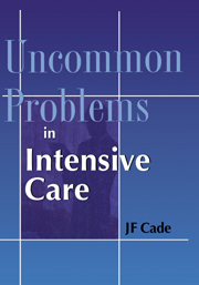 Uncommon Problems in Intensive Care
