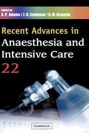 Recent Advances in Anaesthesia and Intensive Care