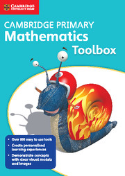 Cambridge Primary Mathematics Toolbox DVD-ROM