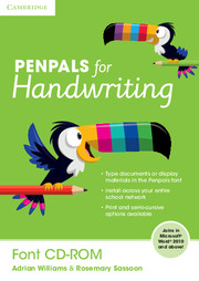 Penpals for Handwriting Font CD-ROM