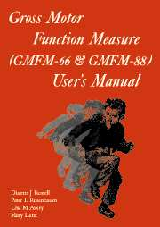 Gross Motor Function Measure (GMFM) Self-Instructional Training CD-ROM
