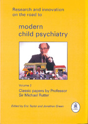 Research and Innovation on the Road to Modern Child Psychiatry