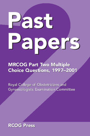 Past Papers MRCOG Part Two Multiple Choice Questions