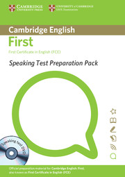 Speaking Test Preparation Pack for FCE