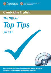 The Official Top Tips for CAE