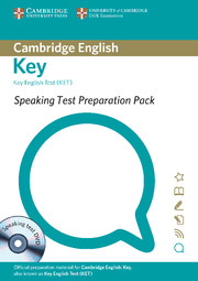 Speaking Test Preparation Pack for KET