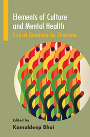 Elements of Culture and Mental Health