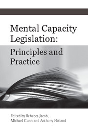 Mental Capacity Legislation