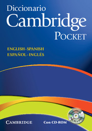 Diccionario Bilingue Cambridge Pocket, Spanish-English