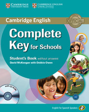 Complete Key for Schools for Spanish Speakers