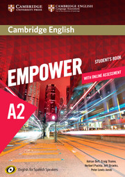 Cambridge English Empower for Spanish Speakers
