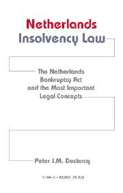 Netherlands Insolvency Law