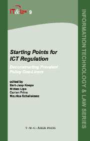 Starting Points for ICT Regulation