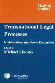 Transnational Legal Processes