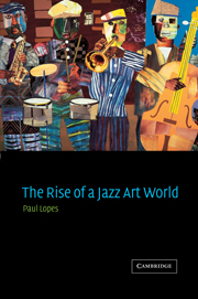 The Rise of a Jazz Art World