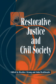 Restorative Justice and Civil Society