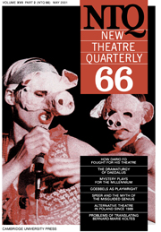 New Theatre Quarterly 66