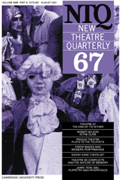 New Theatre Quarterly 67