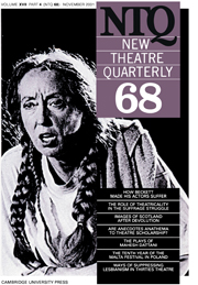 New Theatre Quarterly 68