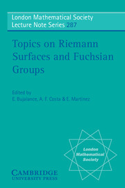 Topics on Riemann Surfaces and Fuchsian Groups